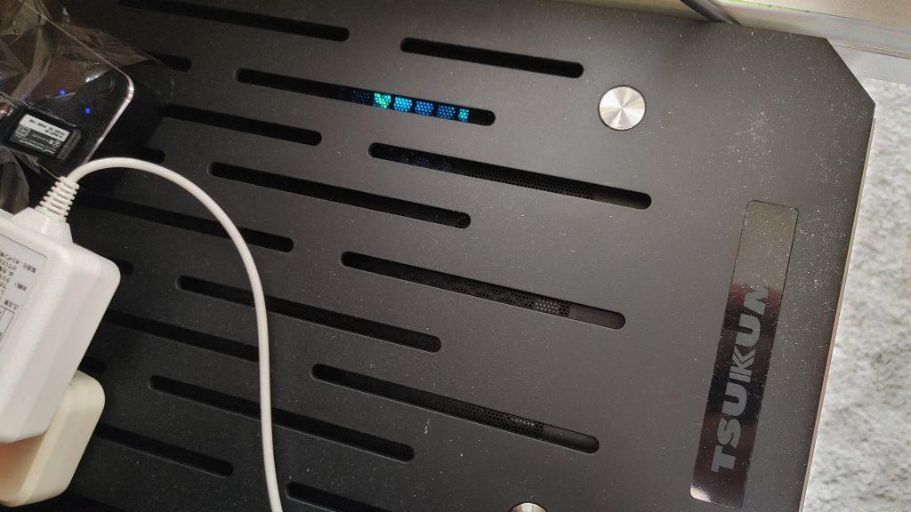パソコン内部が光ります